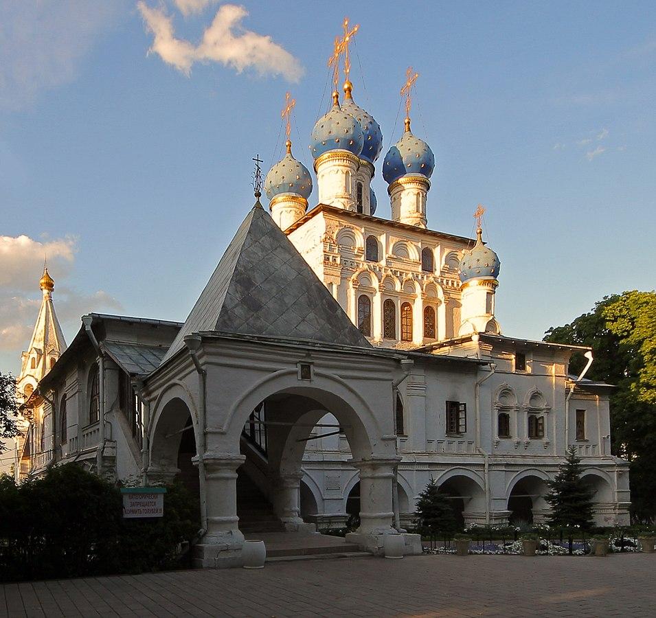 Коломенское - Храм Казанской Богоматери