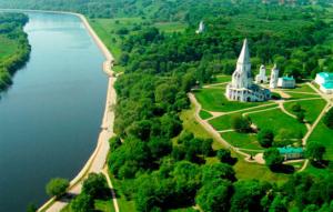 Музей-заповедник Коломенское - вид на парк
