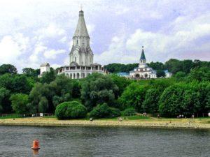 Парк Коломенское - церковь Вознесения