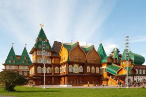 Парк Коломенское - дворец Алексея Михайловича